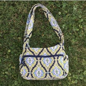 Vintage Vera Bradley Retired Green Shoulder Bag